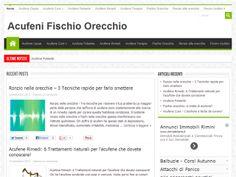 Anteprima www.acufenifischioorecchio.com su net-parade.it