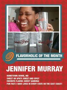 Our June #Flavorholic, Jennifer Murray!