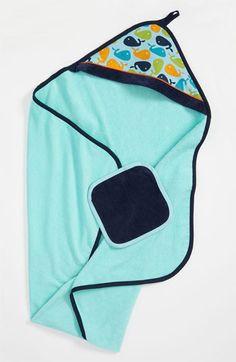 Baby JaR Hooded Towel & Washcloth (Infant) | Nordstrom