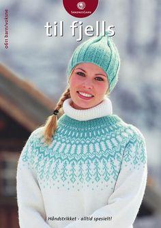 dk garn og opskrift finder du i min shop Fair Isle Knitting, Hand Knitting, Knitting Patterns Free, Knit Patterns, Free Pattern, Norwegian Knitting, Knit Crochet, Crochet Hats, Knitting Magazine