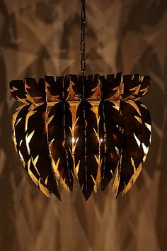 Feathered Chandelier - anthropologie.com... i want this soo bad.
