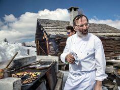 Chef Norbert Niederkofler of Hotel Rosa Alpina; St. Hubertus, Italy