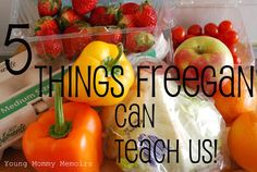 Five Things Freegan Can Teach Us