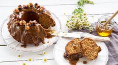 Λαχταριστό κέικ ολικής άλεσης με μέλι & ελαιόλαδο Healthy Snacks, Healthy Recipes, Sweetest Day, Coffee Cake, Caramel Apples, Fun Desserts, How To Stay Healthy, Muffin, Food And Drink