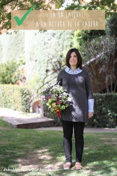 R - BIEN FRENTE - como llevar el ramo de novia consejos de boda con Maron blog Sally Hambleton The Workshop