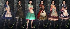 alice the madness returns costume for teens - Google Search