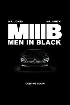 Men in Black 3.  It's been 10 long years since we last saw Agents Smith and Jones. Love their sense of style in the movies