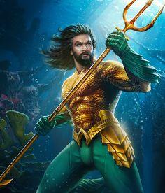 Post with 20620 views. Marvel Dc Comics, Aquaman Dc Comics, Dc Comics Art, Fun Comics, Aquaman Film, Aquaman 2018, Aquaman Injustice, Injustice 2 Roster, Poseidon
