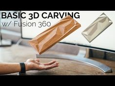 Fusion 360 Carving for Beginners Woodworking Furniture, Custom Woodworking, Woodworking Plans, Cnc Router Bits, Diy Cnc Router, Router Projects, Easy Projects, Sketch Menu, Cnc Software