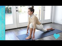 This relaxing low to the ground practice is perfect for a rainy or wintery day! Warm your body and your heart by taking some quality stretchy feel good time for yourself. This yoga practice is also re Difficult Yoga Poses, Yoga For Seniors, Yoga With Adriene, Learn Yoga, Bikram Yoga, Restorative Yoga, Types Of Yoga, Yoga Routine, Yoga Benefits