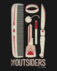 The Outsiders by SE Hinton Book Design Layout, Book Cover Design, Die Outsider, The Outsiders Imagines, 007 Casino Royale, Quotes For Book Lovers, Decorating Bookshelves, Book Posters, Beautiful Book Covers