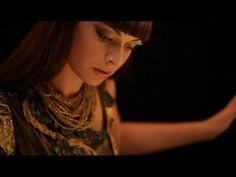 "Kseniya Simonova perform amazing sand animation in music video ""sora ni mau"". the song by fuyumi abe, japanese singer song writer."