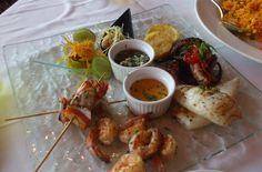 Peruvian Grilled Sea Food!