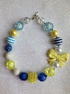 Cute Chunky little girls necklace!