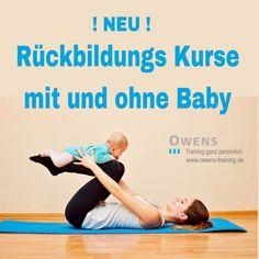 Unsere Kurse und Angebote im nagelneuen Kursstudio www.owens-yoga.de  NEU Rückbildung mit und ohne Baby mit Valesca.  Einstieg und Training für effektive Rückbildung und Muskelaktivierung mit und ohne Einbindung des Nachwuchs :)  6 Termine a 45 Minuten für 99 €!  Im Kurs jeden Dienstag von 10 -11 Uhr im Owens Yoga.  Start am 08. Mai   Dieser Kurs beginnt alle 8 Wochen neu! Das Aktuelle Kursangebot gibt es auch zum sofortigen Buchen auf www.owens-training.de Schnuppern, Probestunden…