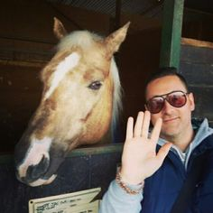 Me and Valentino...