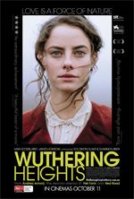 Andrea Arnold's new version of Emily Bronte's Wuthering Heights give the story a racial edge. Heathcliffe (Jason Howson) is black and Catherine (Kaya Scoldelario) is white privileged. Arnold gives it an impressionistic tinge, allowing the emotional elements of the story greater force.