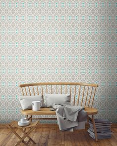Everything's Jake with your entryway. http://tyles.co/collections/modern/products/tyles-everythings-jake-in-warm-grey-and-mint