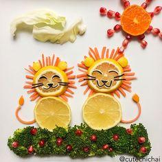 {Fun Food} les assiettes créatives de Cute Chichai - Créamalice