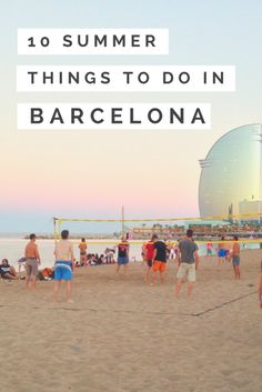 Good weather definitely comes with lots of good times in Barcelona! Here are the best things to do in summer in Barcelona, from festivals to summer eats.