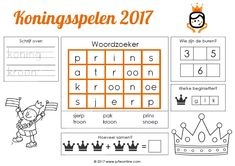 """Search results for """"Koningsspelen"""" Kings Day, Pre School, Crafts For Kids, Language, Teacher, Classroom, Placemat, Education, Holland"""