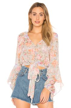aa871e34834f2 New AUGUSTE New Romance Poet Blouse online. Enjoy the absolute best in  Bettinis womens-clothing from clothing store.