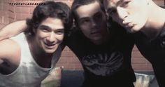 Tyler Posey, Dylan O'Brien and Colton Haynes :D <3