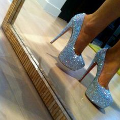 Glitter Glitz #sparklingeverafter Can these PLEASE be my wedding shoes?!