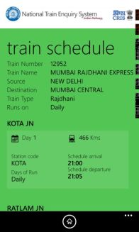 Indian Railways Launches The National Train Enquiry System (NTES) App screenshot 4