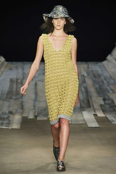 Coven at Fashion Rio, S 2010 - Crochet Broomstick Dress
