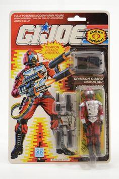 Vintage Cobra GI Joe 1990 Crimson Guard Immortal MOC New Unopened Sealed Nice!  #GIJoe #Cobra #Immortal
