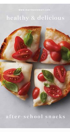 Healthy & Delicious After-School Snacks | Martha Stewart Living - For an alternative to processed foods, make these delicious, protein-rich snacks with just a few fresh, simple ingredients.