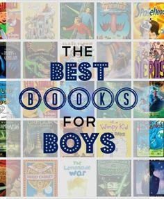 Best Books for Boys | Books for Boys | Summer Reading List | Reluctant Reader