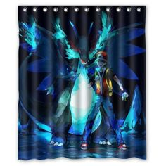 "ScottShop Custom Best Pokemon Shower Curtain Decoration Waterproof Polyester Fabric Bathroom Shower Curtains 60 ""x 72"" Inch -- Awesome products selected by Anna Churchill"