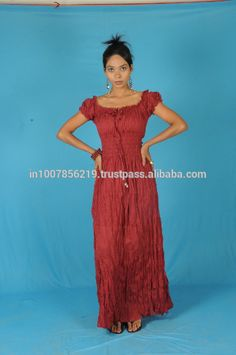 Source New Fashion Cotton Peasant Sun Long Maxi Boho Hippie Gypsy Beach Casual Ladies Women Festival Evening Dress on m.alibaba.com