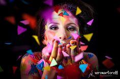 Explosión de color - fotografía artística 15 años