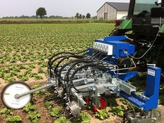 The Robovator is a vision based hoeing machine for controlling weed in row crops.     ROBOVATOR - with mechanical tools - read more..    ROBOVATOR - automatic hoe, 31 rows  FEATURES:  Easy to operate, can be controlled by your smart phone, laptop or by its own display