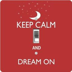 "Rikki KnightTM Keep Calm and Dream On - Red Color - Single Toggle Light Switch Cover by Rikki Knight. $13.99. Washable. For use on Walls (screws not included). Glossy Finish. Masonite Hardboard Material. 5""x 5""x 0.18"". The Keep Calm and Dream On - Red Color single toggle light switch cover is made of commercial vibrant quality masonite Hardboard that is cut into 5"" Square with 1'8"" thick material. The Beautiful Art Photo Reproduction is printed directly into the switch..."