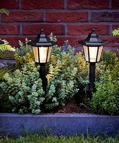Luxform® Solcellelamper 'Lanterna' sæt