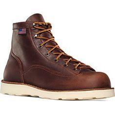 """656789a2ba2d86 Danner Men's Bull Run 6"""" Work Boot Best Men's Work Boots, Law Enforcement  Boots"""