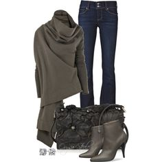 POLYVORE - CHIC AND COMFY