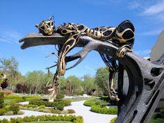 art sculpture fish surreal horse steampunk steam punk steampunk tendencies Leppard