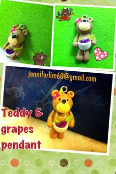 cute bear for a pendant..