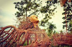 From @ivan_ws12 . Kreatifitas tanpa batas !!! Malang punnya . Taken at Taman Langit Gunung Banyak Batu