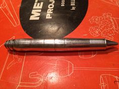 My first pen Metal lathe project.