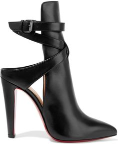 Christian Louboutin Pointipik 100 leather pumps