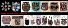 Gli abiti tradizionali erano privi di tasche,per questo gli Iroquoian usavano borse di varo tipo per gli scopi più vari. Queste sono parte dell'abbigliamento femminile neotradizionale (periodo tardo).