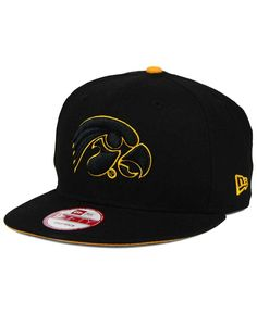 20d60547558 This New Era Ncaa Core 9FIFTY snapback cap displays your Iowa Hawkeyes  pride. Wear this