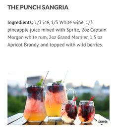 Punch Sangria