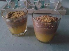 Schokomousse mit Mangopüree - Ein fruchtig-schokoladiges Dessert für besondere Momente (ohne Ei)